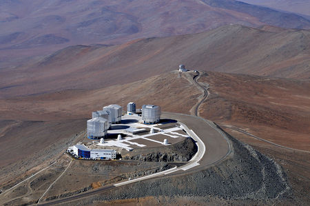 Paranal, Cerro Paranal, Very Large Telescope, VLT Survey Telescope, VST, VISTA