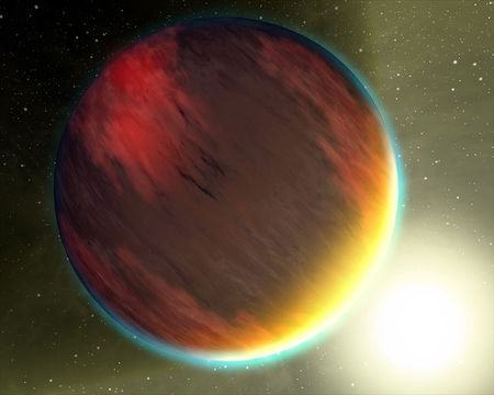 Heitur gasrisi, hot jupiter