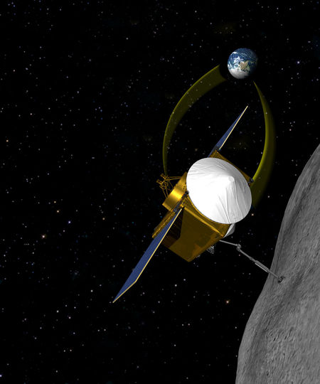 OSIRIS-REx, Origins Spectral Interpretation Resource Identification Security Regolith Explorer, smástirni, 1999 RQ36