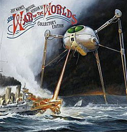 war of the worlds, jeff wayne, mars