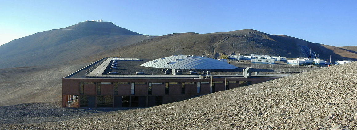 Paranal, Residencia, Very Large Telescope