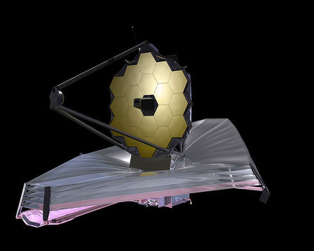 James Webb Space Telescope, James Webb geimsjónaukinn, arftaki Hubbles