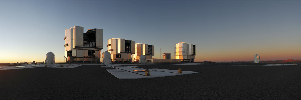 Very Large Telescope, ESO, Chile, VLT