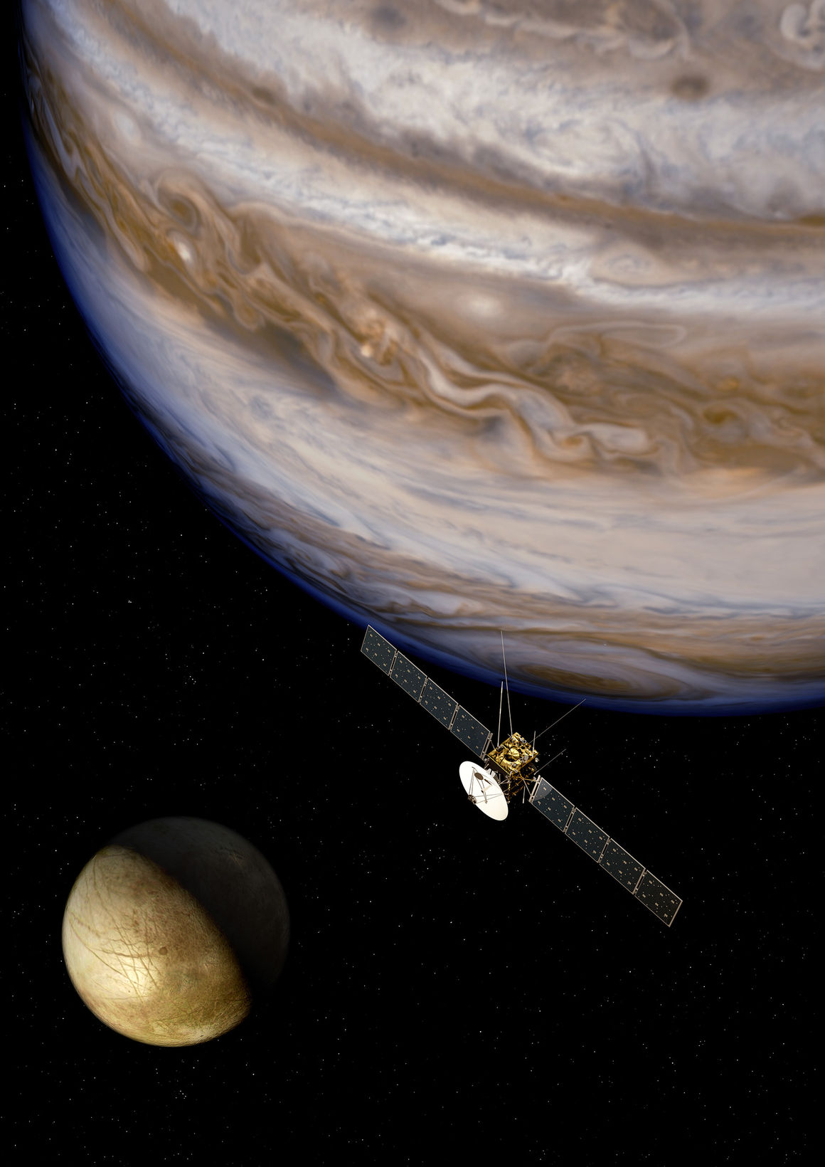 Júpíter, Jupiter Icy moons Explorer